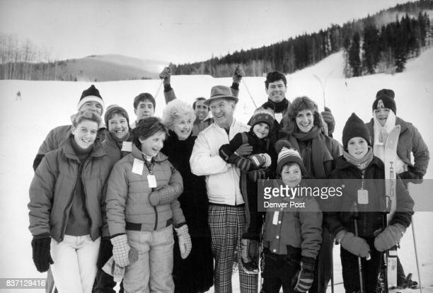 The Sullivan family gathered at foot of Beaver Creek's slopes where they vacationed before game l to r Heather 14 her father Joe mother Jean Sullivan...