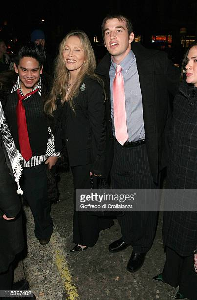 The Sultan of Brunei's son Faye Dunaway and guest