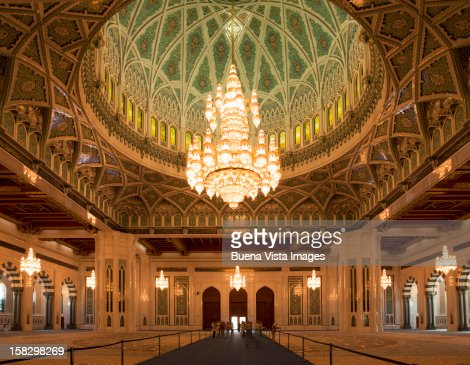 The Sultan Qaboos Grand Mosque, Muscat.