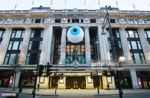 `The Sum of All Reasons` a constantly breathing eye which has been designed exclusively for Selfridges by Artistic duo Dadadandy Simon Moretti and...