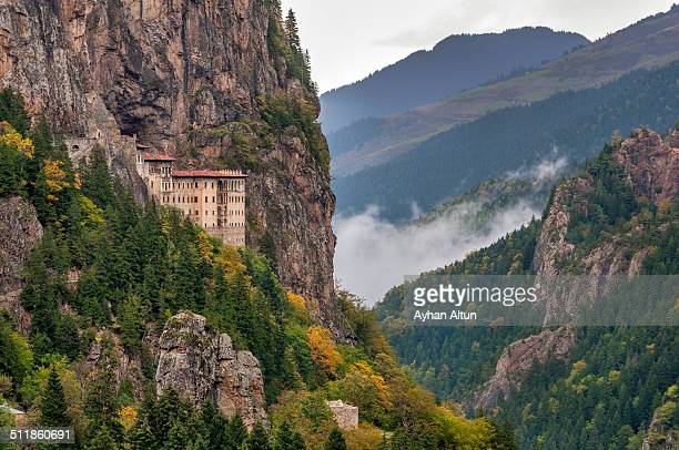 The Sumela Monastery in Trabzon,Turkey