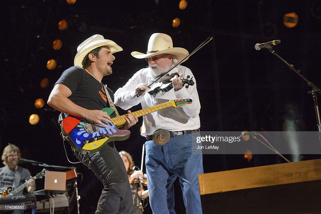 ROCK - The summer's hottest television music event, 'CMA Music Festival: Country's Night to Rock,' airs on MONDAY, AUGUST 12 (8:00-11:00 p.m., ET) on the ABC Television Network. PAISLEY