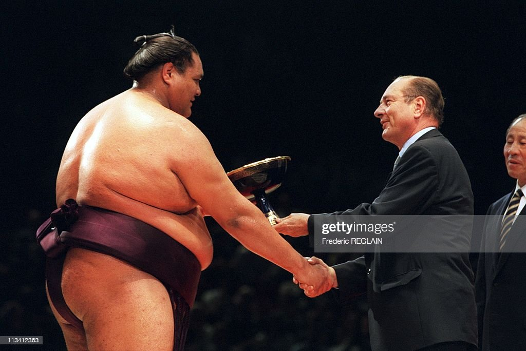 The Sumo A Bercy On October 14th, 1995