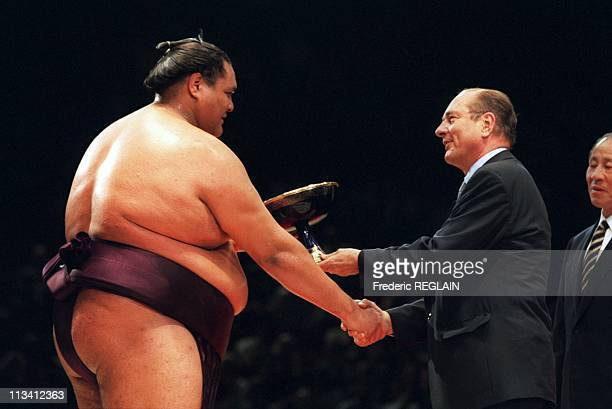 The Sumo A Bercy On October 14th 1995