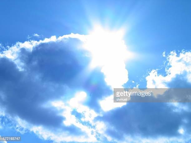 The Sun Breaks in a Tungsten Blue Sky #1