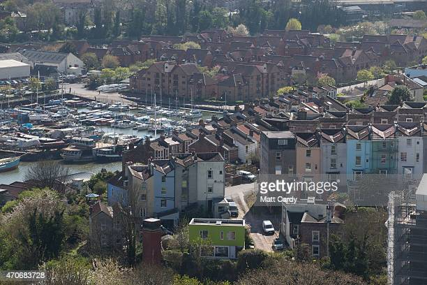 The sun illuminates buildings viewed from Brandon Hill on April 22 2015 in Bristol England The UK has recently been enjoying a sustained period of...