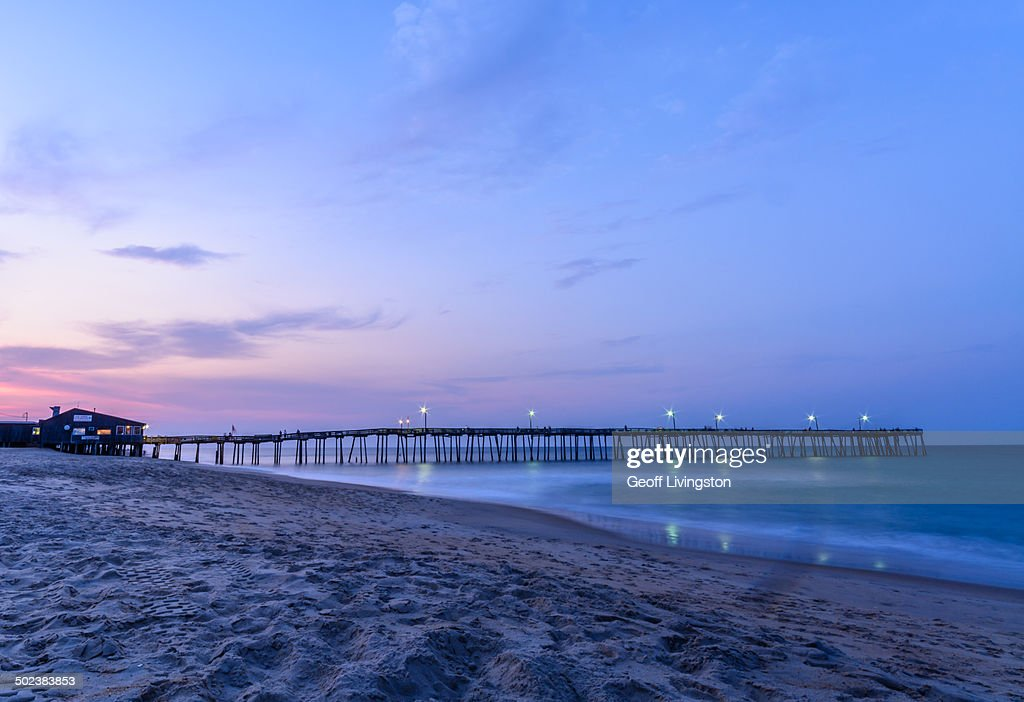 The Sun Set on the Nags Head Fishing Pier