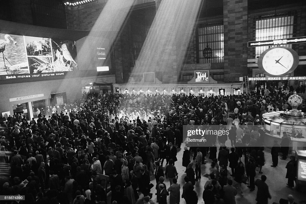 The sun shines down on the $2 bettor through the roof of Grand Central Terminal as legalized betting long delayed and often attacked as immoral got...