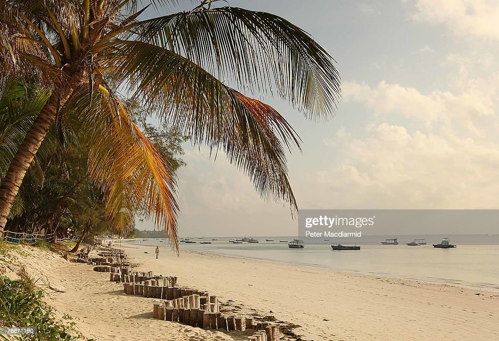The sun shines on the seafront on January 9, 2008 in Mombasa, Kenya. Tourism is a $1 billion industry in Kenya. Some tour operators have temporarily banned package holidays over fear of post election violence.