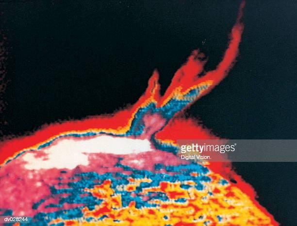 The Sun, solar flare