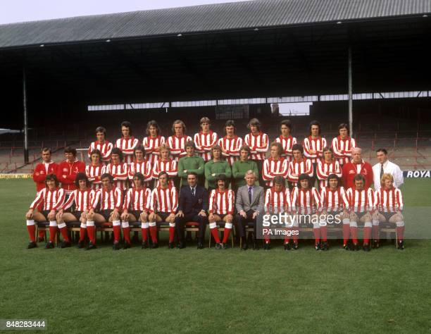 The Sunderland playing staff for the 197374 season