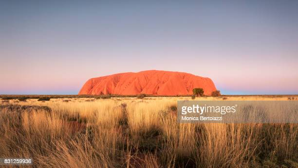 The Sunset in Uluru