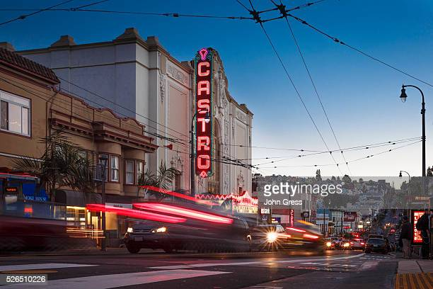 The sunsets on the Castro in San Francisco February 13 2015