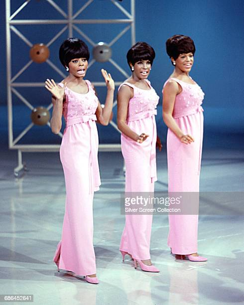 The Supremes in concert circa 1965 From left to right Diana Ross Mary Wilson and Florence Ballard
