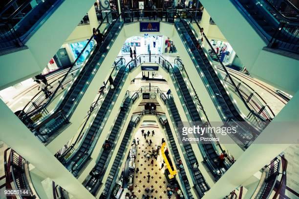 The Suria shopping Mall at Petronas Towers in Kuala Lumpur Malaysia