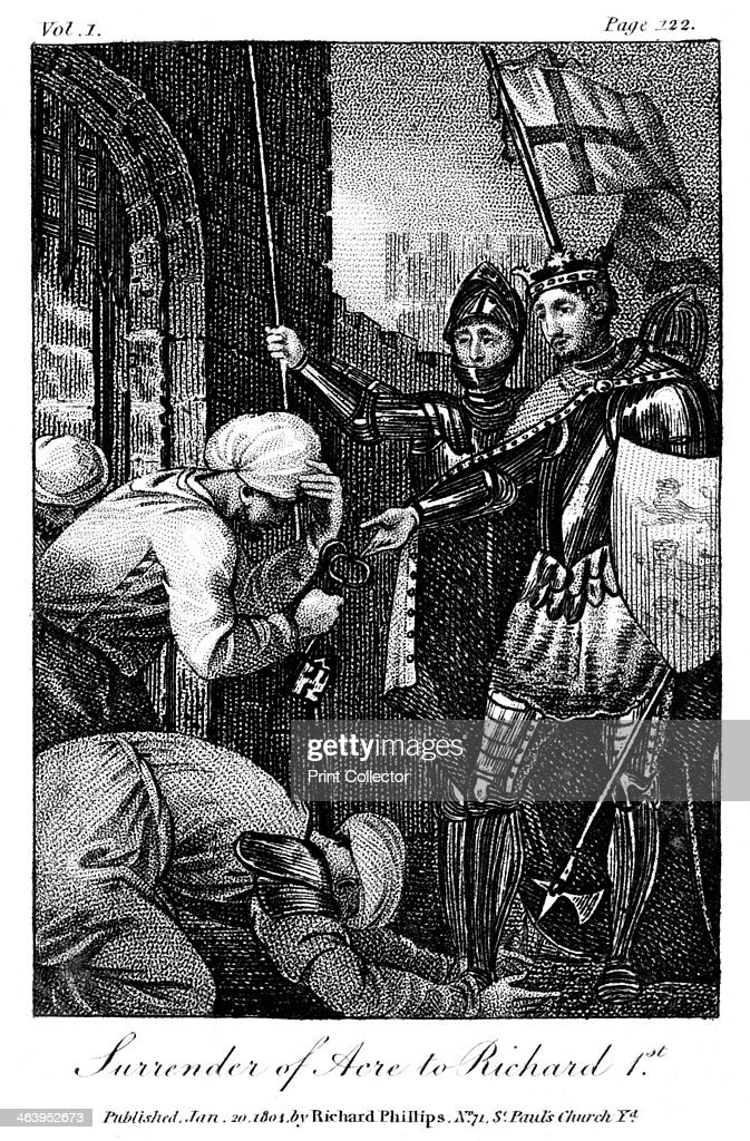 The surrender of Acre 1804 King Richard I took Acre in 1191 as part of the Third Crusade Richard was King of England from 1189 to 1199 He was known...