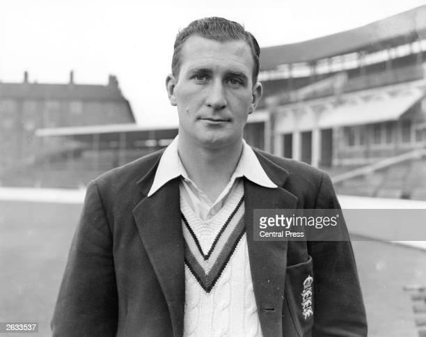 The Surrey County Cricket and English spin bowler Jim Laker