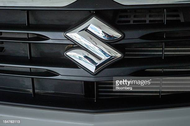 maruti suzuki logo stock photos and pictures getty images