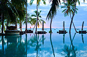 The Swimming Pool of Summer Resort