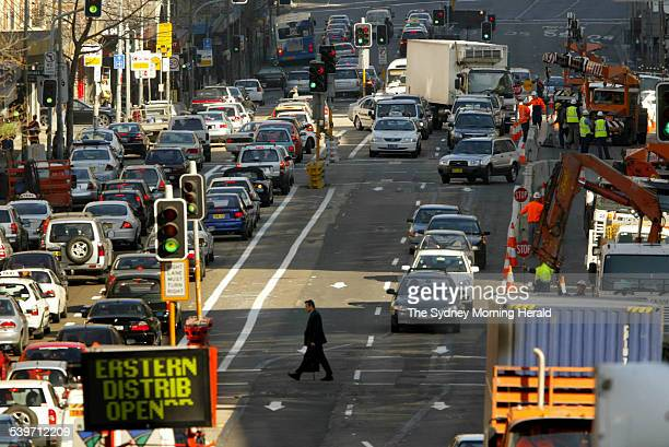 The Sydney Cross City tunnel passed its first test this morning with Monday morning traffic flowing well during peak time on 29 August 2005 William...