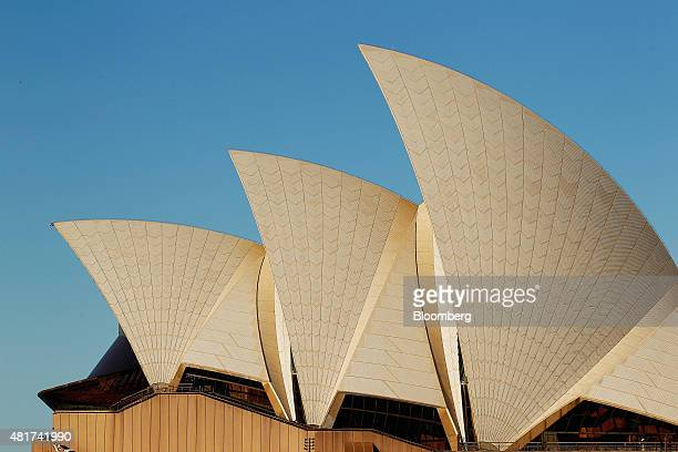 The Sydney Opera House stands in Sydney Australia on Tuesday July 21 2015 Tired hotels outdated attractions like Sydney's Darling Harbor and mediocre...