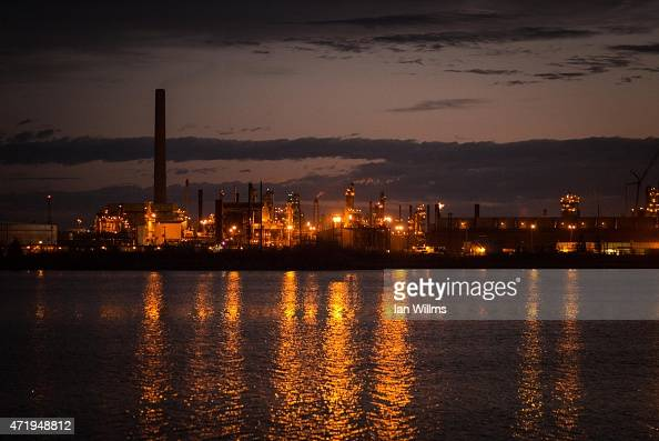The Syncrude oil sands site outside of on April 28th 2015 in Fort McMurray Canada Fort McMurray is currently coping with an economic downturn as a...