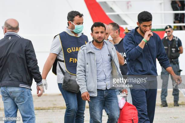 The Syrians Khaled Thaled and Ahmad Dej stopped at Corigliano during disembarkation from ship Vos Hestia and arrested on May 31 following...