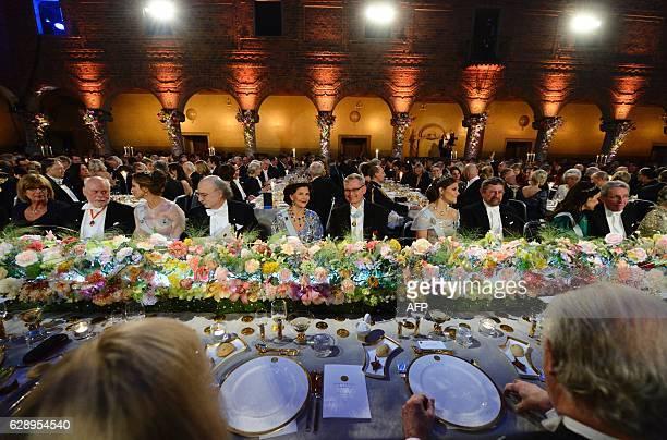 The table of Honour Elisabeth Bootsma Chemistry Nobel Prize Laureate of Great Britain Sir James Fraser Stoddart Sweden's Princess Madeleine Physics...