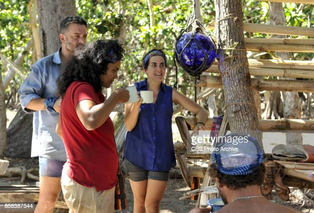 'The Tables Have Turned' Jeff Varner Sandra DiazTwine and Aubry Bracco on the fourth episode of SURVIVOR Game Changers airing Wednesday March 22 on...