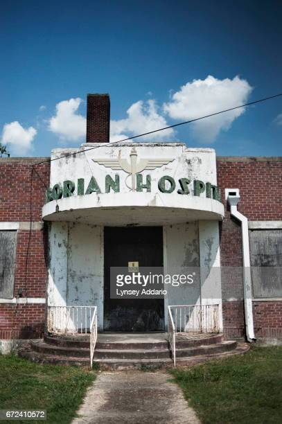 The Taborian Hospital lays in ruins in Mound Bayou in the Mississippi Delta May 31 2012 The Taborian Hospital was one of two hospitals where African...