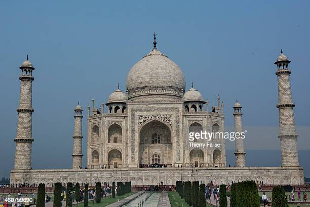 The Taj Mahal is a white marble mausoleum built by Mughal emperor Shah Jahan in memory of his third wife Mumtaz Mahal Construction was completed...
