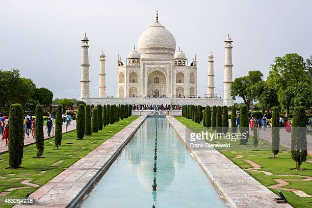 The Taj Mahal looks different after a monsoon shower
