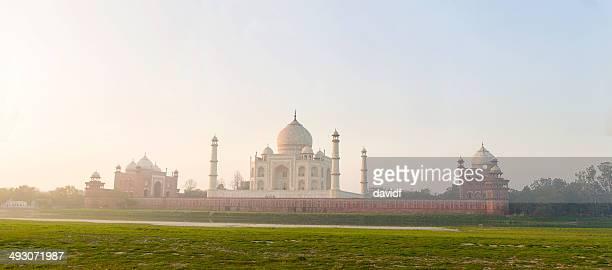 The Taj Mahal Panorama