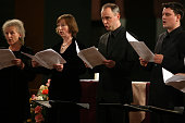 The Tallis Scholars in a program 'Thomas Tallis 500th Birthday Celebration' at the Church of St Paul Apostle on Saturday night December 10 2005In...