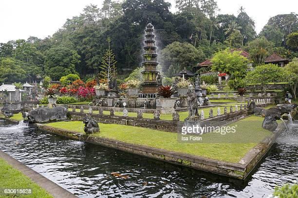 KARANGASEM BALI INDONESIA DECEMBER 23 The Taman Tirta Gangga Water Palace on December 23 2016 in Karangasem Bali Indonesia