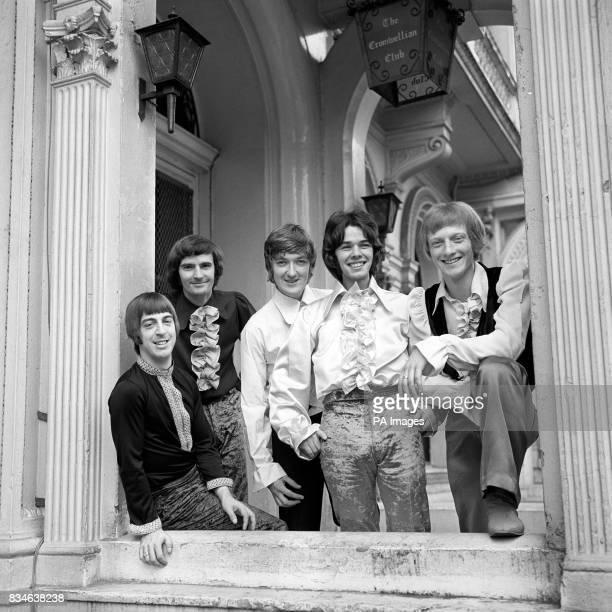 'The Tangerine Peel' pop group Terry Tootill John Warwick Terry Gore James Gaynor and Michael Chapman