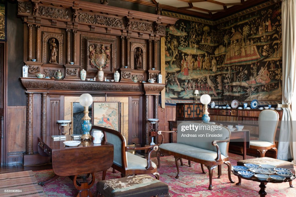 The Tapestry Room, The Vyne, Hampshire.