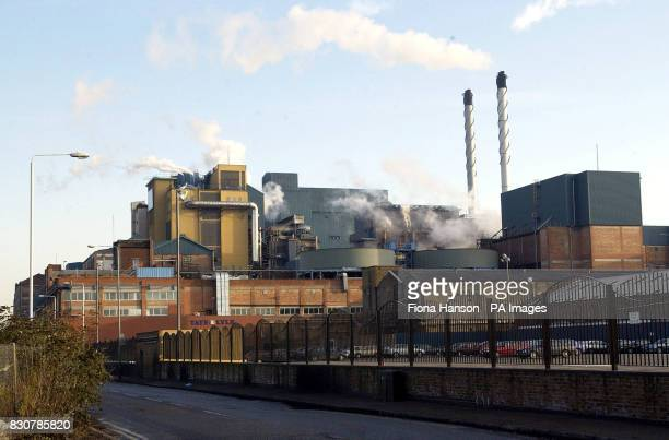 The Tate and Lyle sugar refinery in East London
