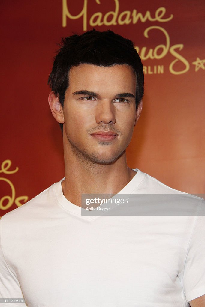 The Taylor Lautner wax figure unveiled at Madame Tussaud Berlin on March 19, 2013 in Berlin, Germany.