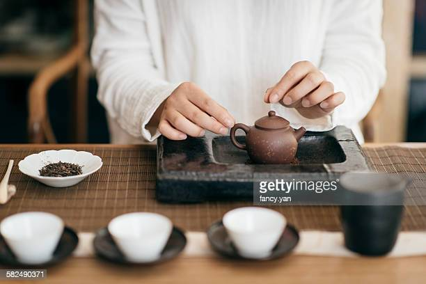 The tea ceremony