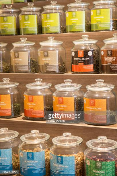 The Tea Garden shisha bar along Ormond Quay Lower on 2nd April 2017 in Dublin Republic of Ireland An alternative hangout and great place to buy tea...