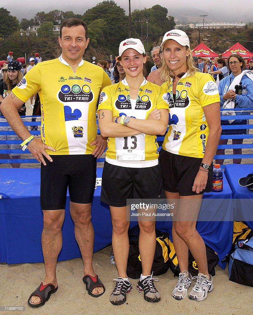 Bob Iger President ABC Jennifer Garner and Teri Wagner