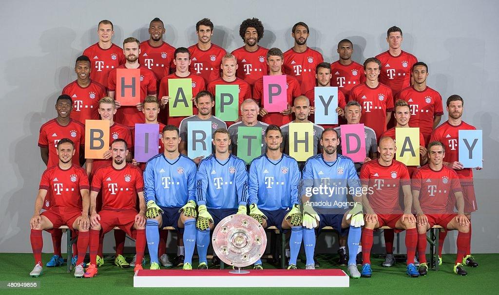 fc bayern münchen happy birthday