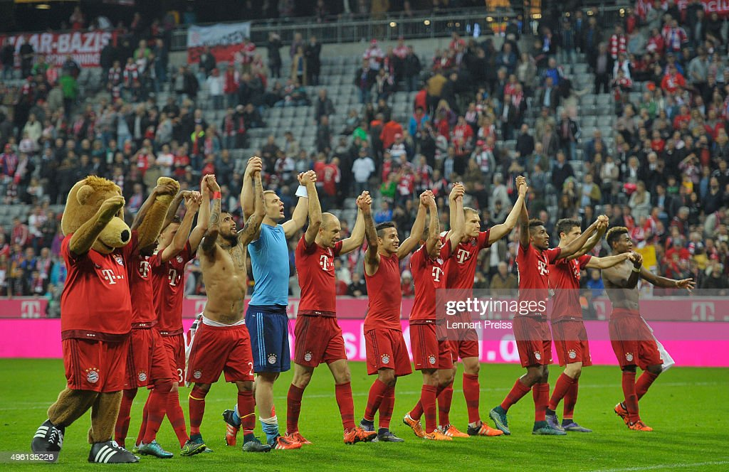 fc bayern muenchen v vfb stuttgart bundesliga getty images. Black Bedroom Furniture Sets. Home Design Ideas