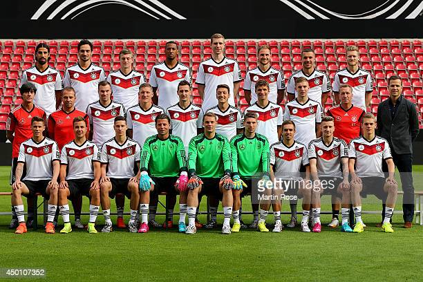 The team of Germany Erik Durm Mario Goetze Julian Draxler Roman Weidenfeller Manuel Neuer RonRobert Zieler Philipp Lahm Marco Reus Matthias Ginter...