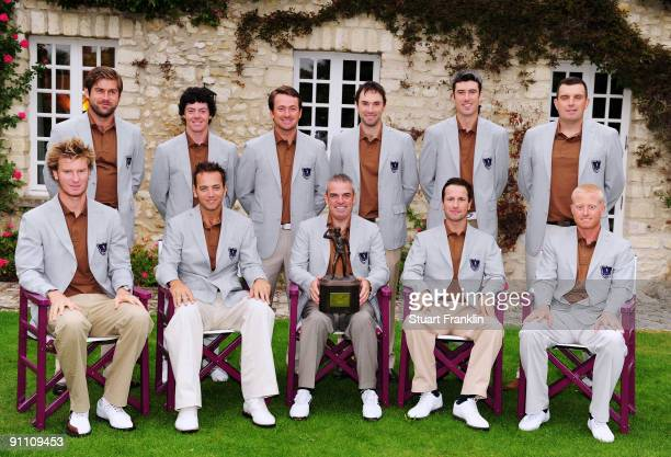 The team of Great Britain and Northern Ireland pose for a picture Robert Rock Rory McIlroy Graeme McDowell Oliver Wilson Ross Fisher and Anthony Wall...