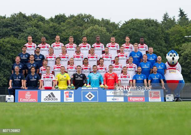 The Team of Hamburger SV Back Bjarne Thoelke Walace PierreMichel Lasogga Sven Schipplock Mergim Mavraj Gideon Jung Kyriakos Papadopoulos Albin Ekdal...