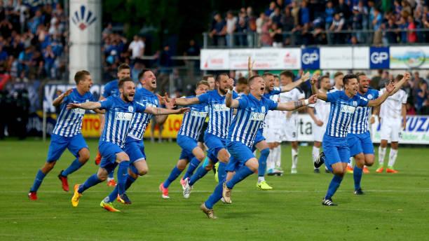 sv meppen v waldhof mannheim relegation regionalliga play off leg 2 photos and images getty. Black Bedroom Furniture Sets. Home Design Ideas