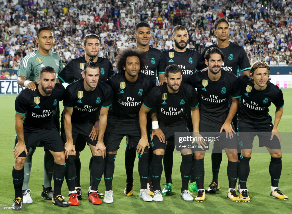 FBL-US-ICC-REAL MADRID-MANCHESTER CITY : News Photo