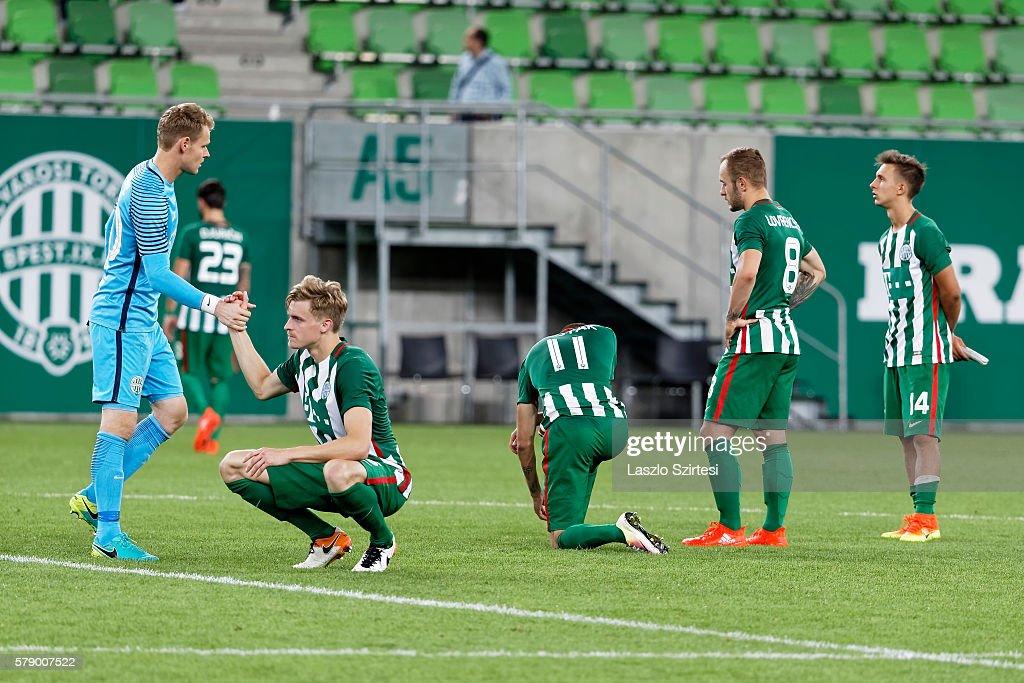 Ferencvarosi TC v FK Partizani - UEFA Champions League Second Qualifying Round: Second Leg